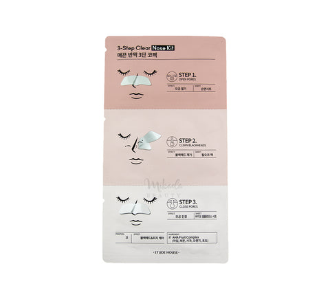 ETUDE HOUSE 3 Step Clear Nose Kit Canada | Korean Skincare | Mikaela