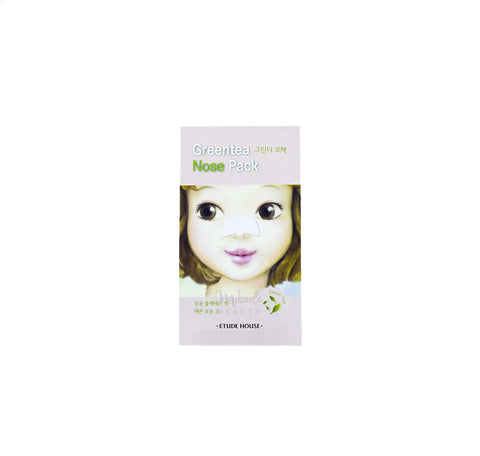 ETUDE HOUSE Green Tea Nose Pack Canada | Korean Skincare | Mikaela