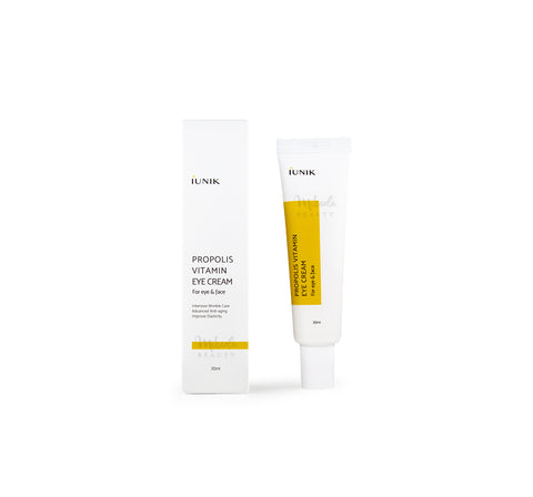 IUNIK Propolis Vitamin Eye Cream Canada | Korean Skincare | Mikaela