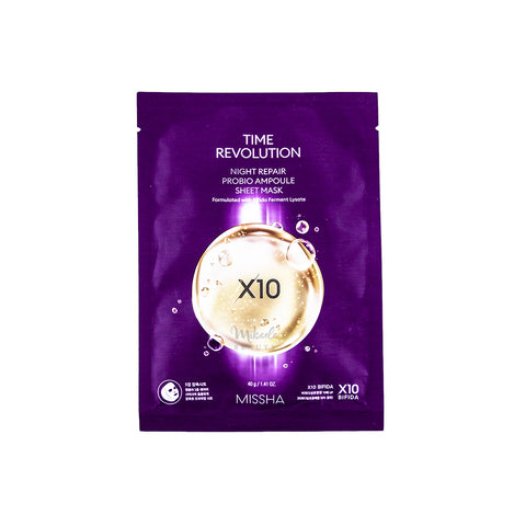 MISSHA Time Revolution Night Repair Probio Ampoule Sheet Mask Canada