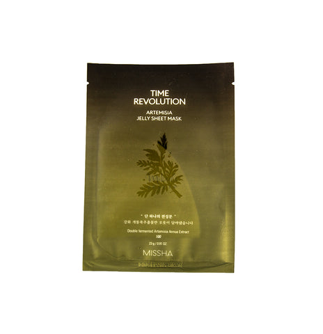 MISSHA Time Revolution Artemisia Jelly Sheet Mask Canada | Mikaela