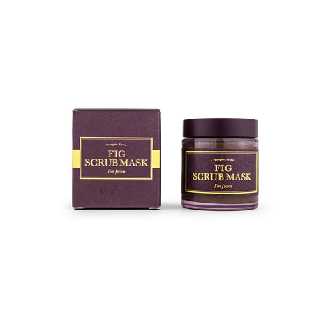 I'M FROM - Fig Scrub Mask Canada | Korean Skincare | Mikaela Beauty