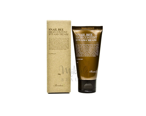 BENTON Snail Bee High Content Steam Cream | Canada | Mikaela Beauty