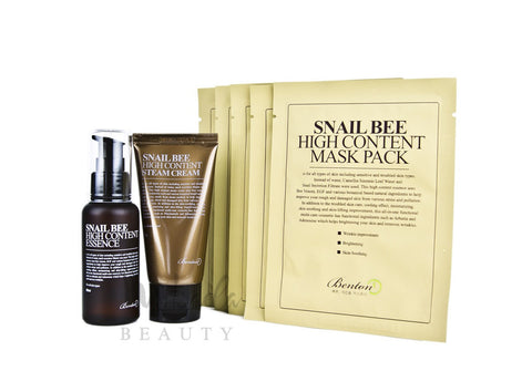 Benton - Snail Bee Pack - Essence + Cream + Mask | Canada & USA