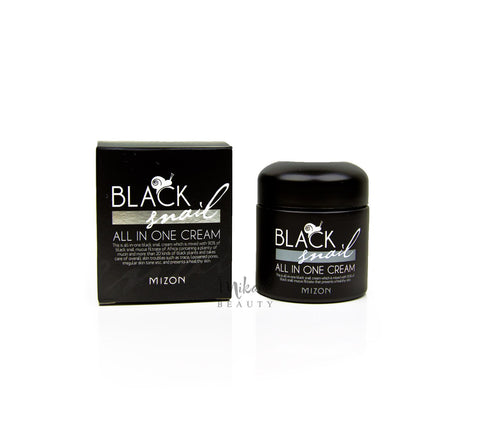 MIZON Black Snail All in One Cream  | Korean Skincare Canada Mikaela