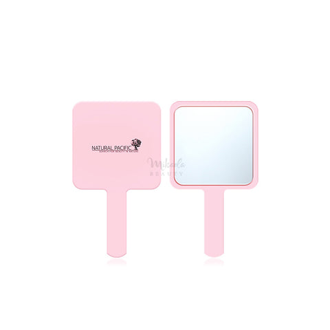 NATURAL PACIFIC - Pink Hand Mirror - Mikaela Beauty, Accessories - Skincare, NATURAL PACIFIC - COSRX, NATURAL PACIFIC - MIZON, NATURAL PACIFIC - BENTON