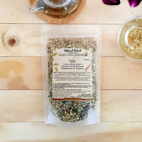 Elderflower & Rosehip (Immune Booster Tea) 60gm