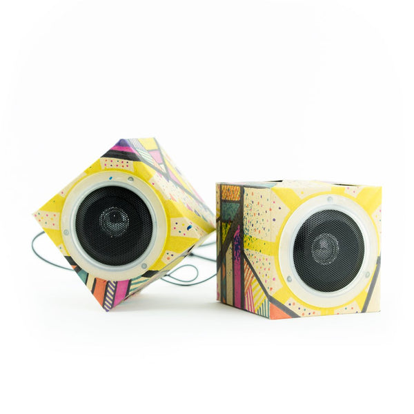 MYO Cardboard Speakers