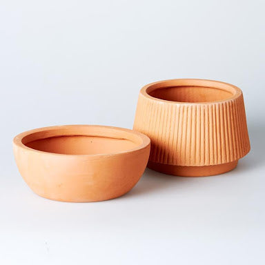 Terracotta Ridge Planter Small