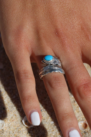 Native Feather Ring