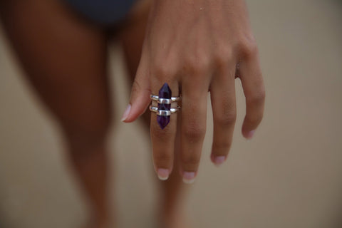 Rising Star Ring - Amethyst