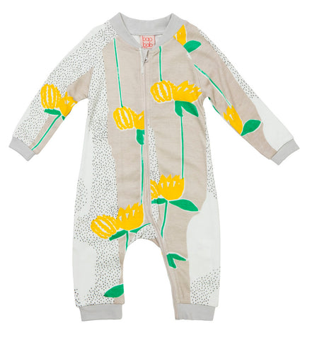 Yellow Flower Zippy Babygro