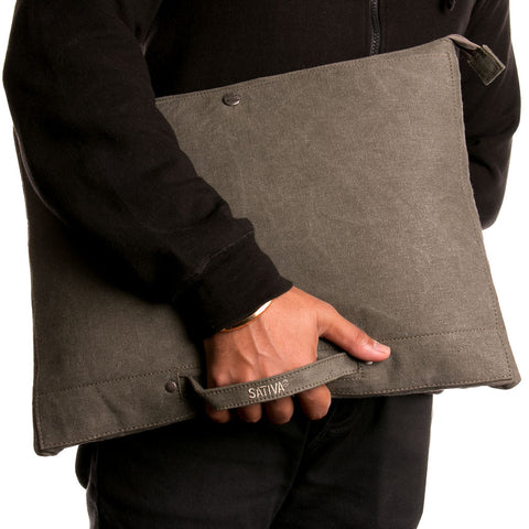 Hemp & Organic Cotton Laptop Sleeve