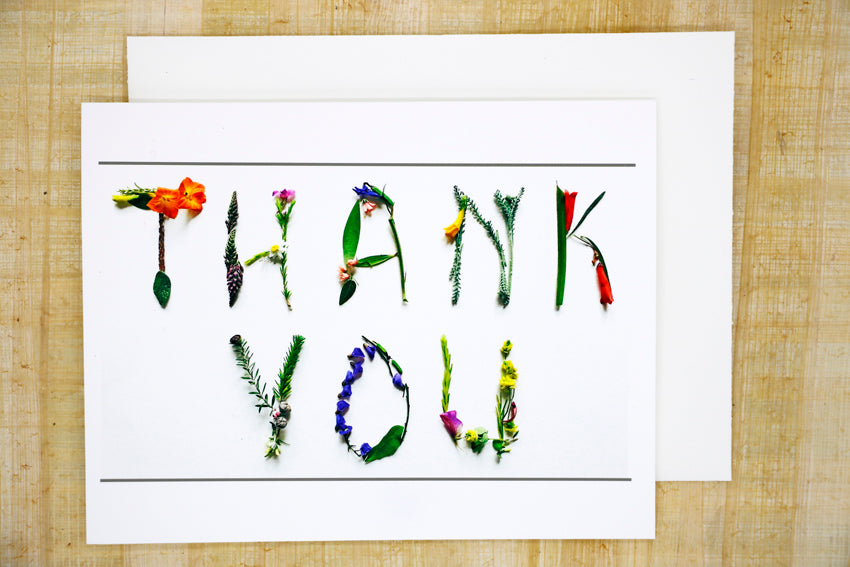 Studio Sheva - Thank You Card
