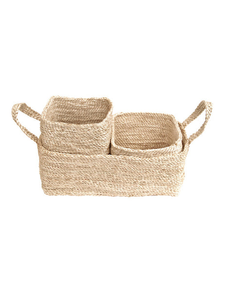 Jute Baskets - Trio