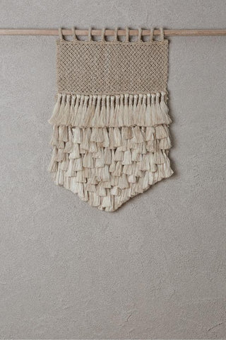 Natural Jute Tassels Wall Hanging