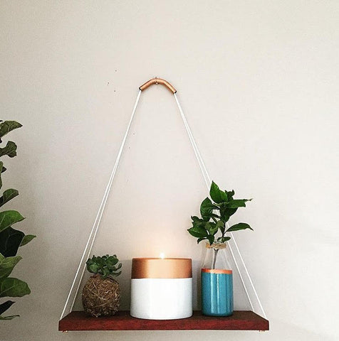 Shelf Hanger - Copper Top