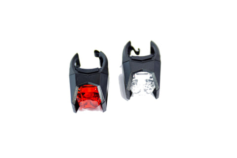LED Bicycle Lights - Front & Rear Light Set