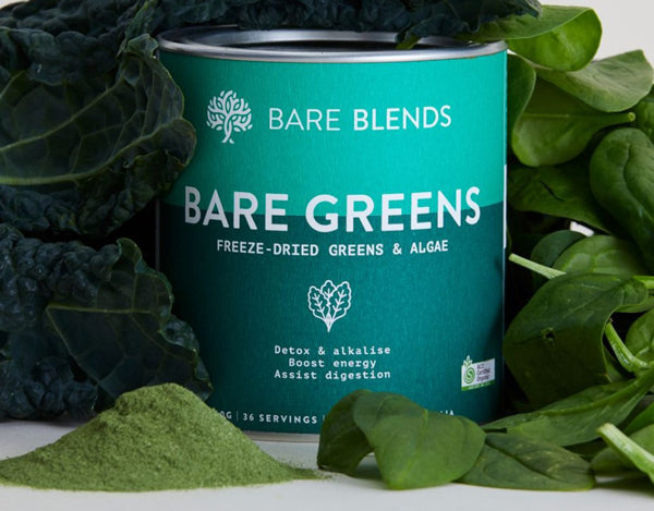 Bare Blends Bare Greens Powder