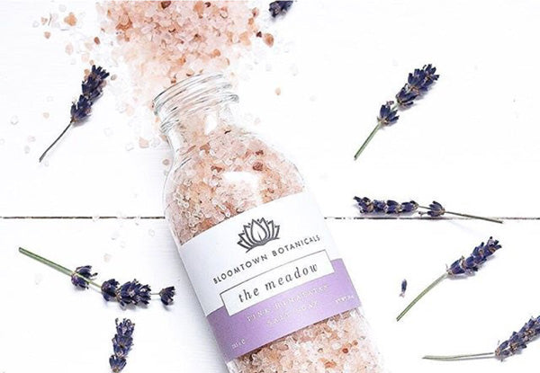Bloomtown's Lavender and Rose Bath Salts