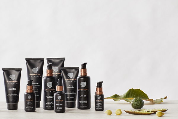Retreatment Botanics Full Skincare Range