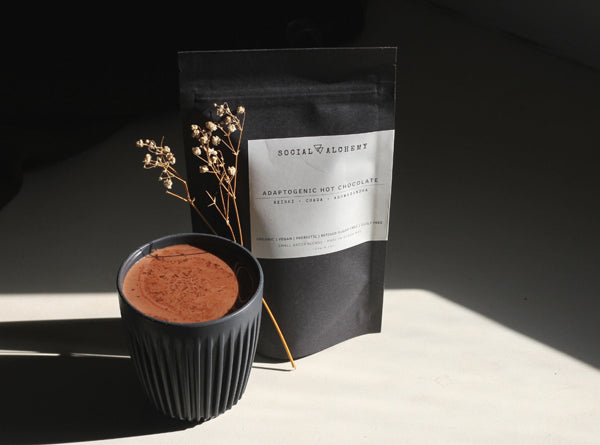 Adaptogenic Dark Cacao blend by The Social Alchemy