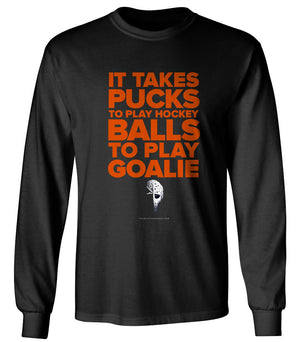 TAKES BALLS TO PLAY GOALIE - Thirty Six and Oh!
