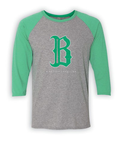 Boston B Baseball...Green!