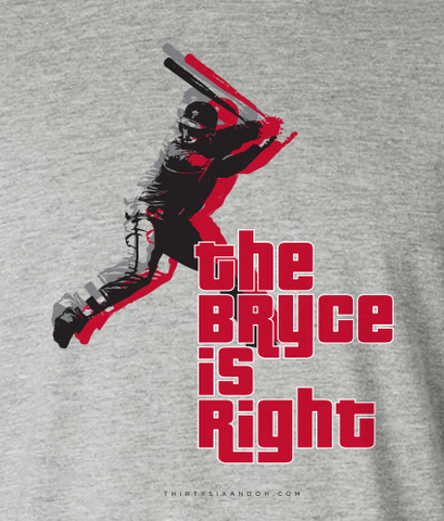 "BRYCE- ""THE BRYCE IS RIGHT"" - Thirty Six and Oh!"