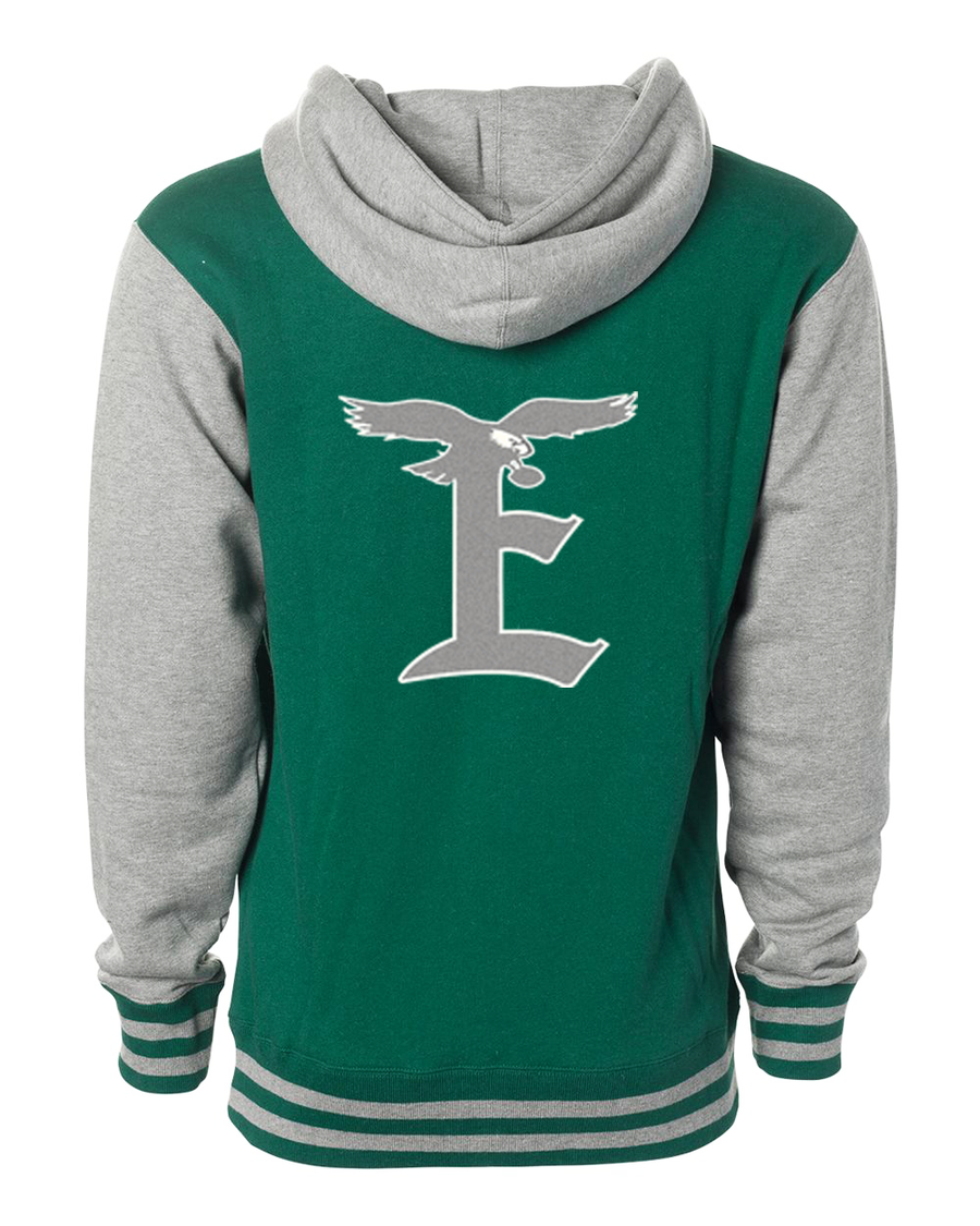Eagles Unisex Varsity Fleece Hoodie