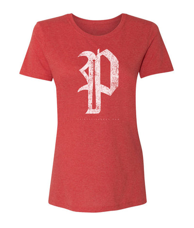 "WOMEN'S PHILLIES ""P"" SOFT STYLE - Thirty Six and Oh!"
