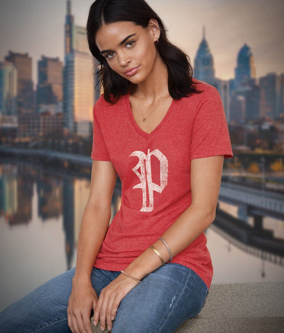 "WOMEN'S PHILLIES ""P"" SOFT STYLE"