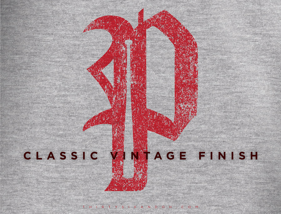"Mens Vintage Phillies ""P"" SOFT STYLE - Thirty Six and Oh!"