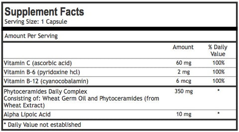 phytoceramides ingredients