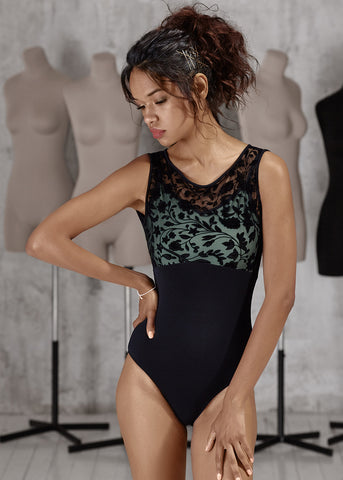 DA1936M LEOTARD- Brown/Gray New Collection