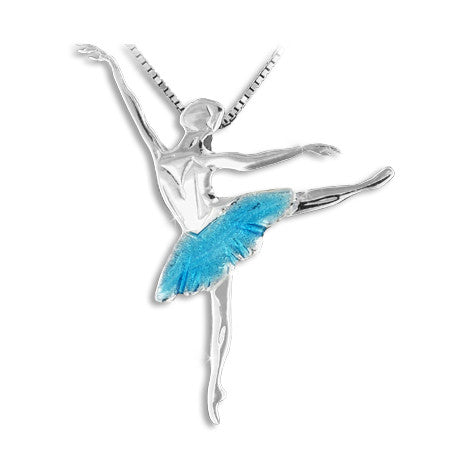 DANCER JEWEL ARABESQUE SMALTATO TURCHESE