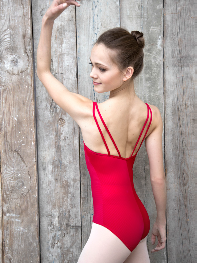 Double straps leotard Ladies