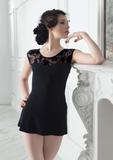 Bolshi star Leotard in black Lace - skirt is not included