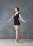 Jewel Emporium 1807 leotard--Black
