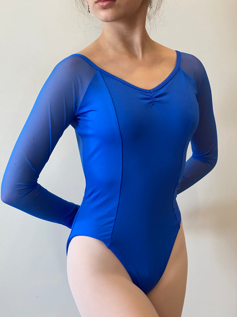 Long Sleeve Raglan Leotard-child