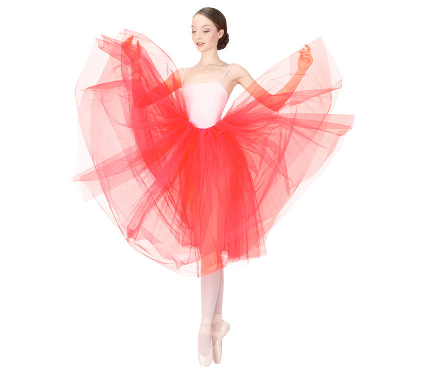 Rehearsal tulle skirt-fruit
