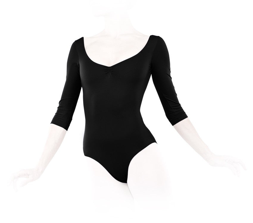 3/4 sleeved leotard
