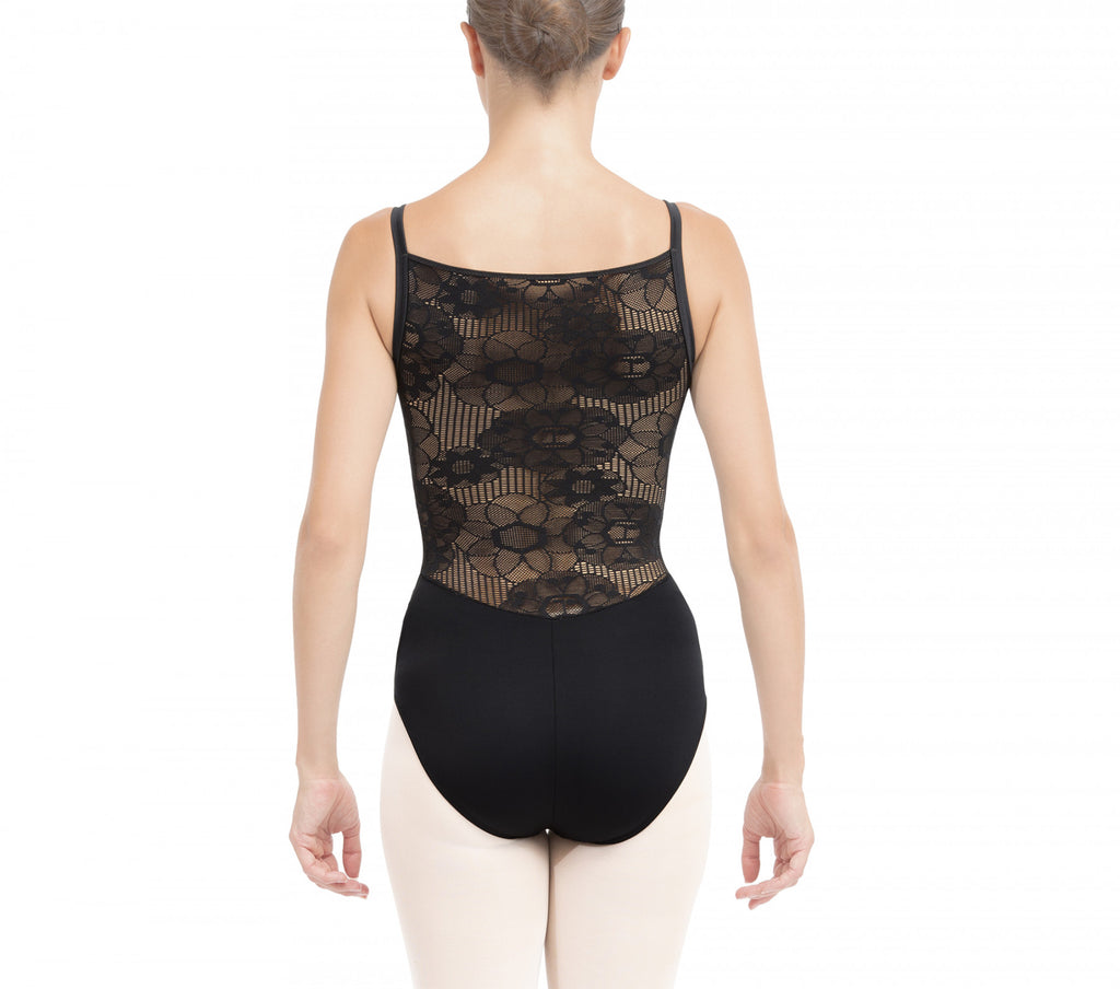 Lace back leotard-new arrival