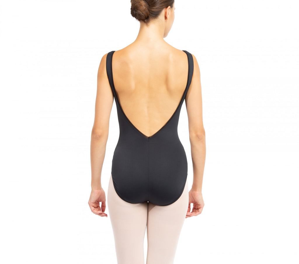 Large leotard neckline back- new arrival