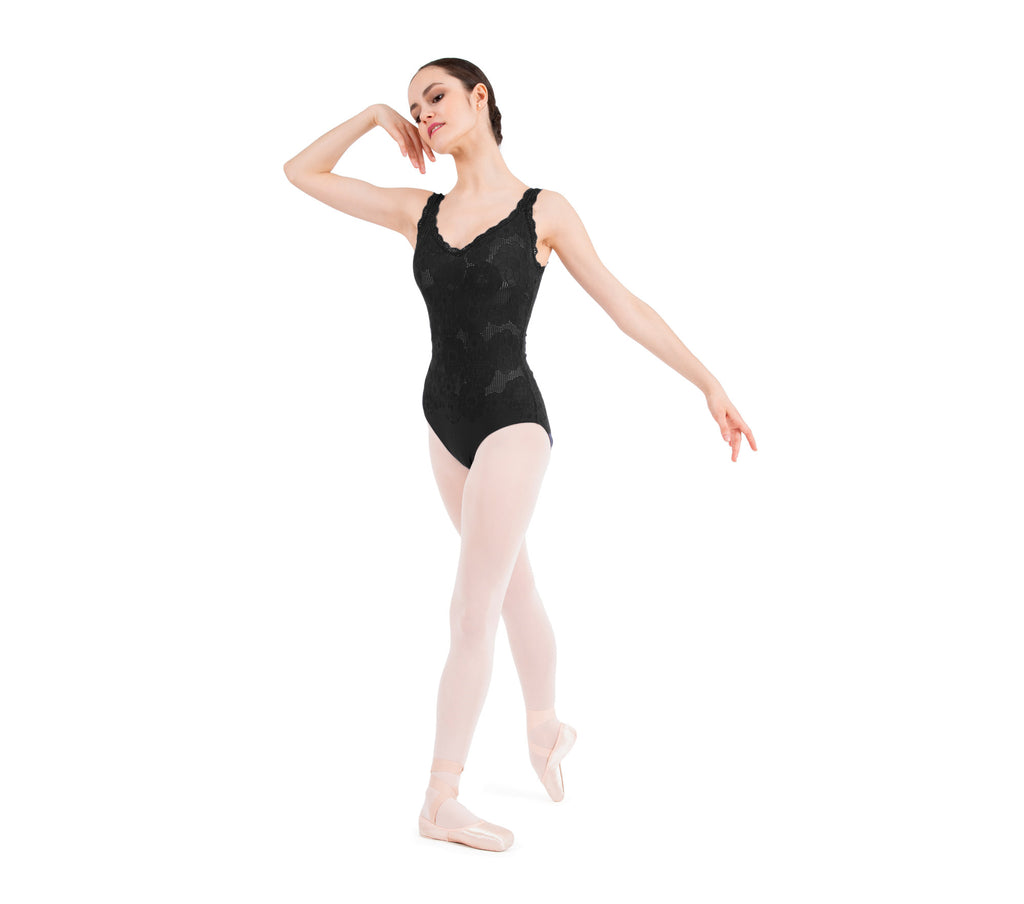 A Thin straps lace leotard- new arrival