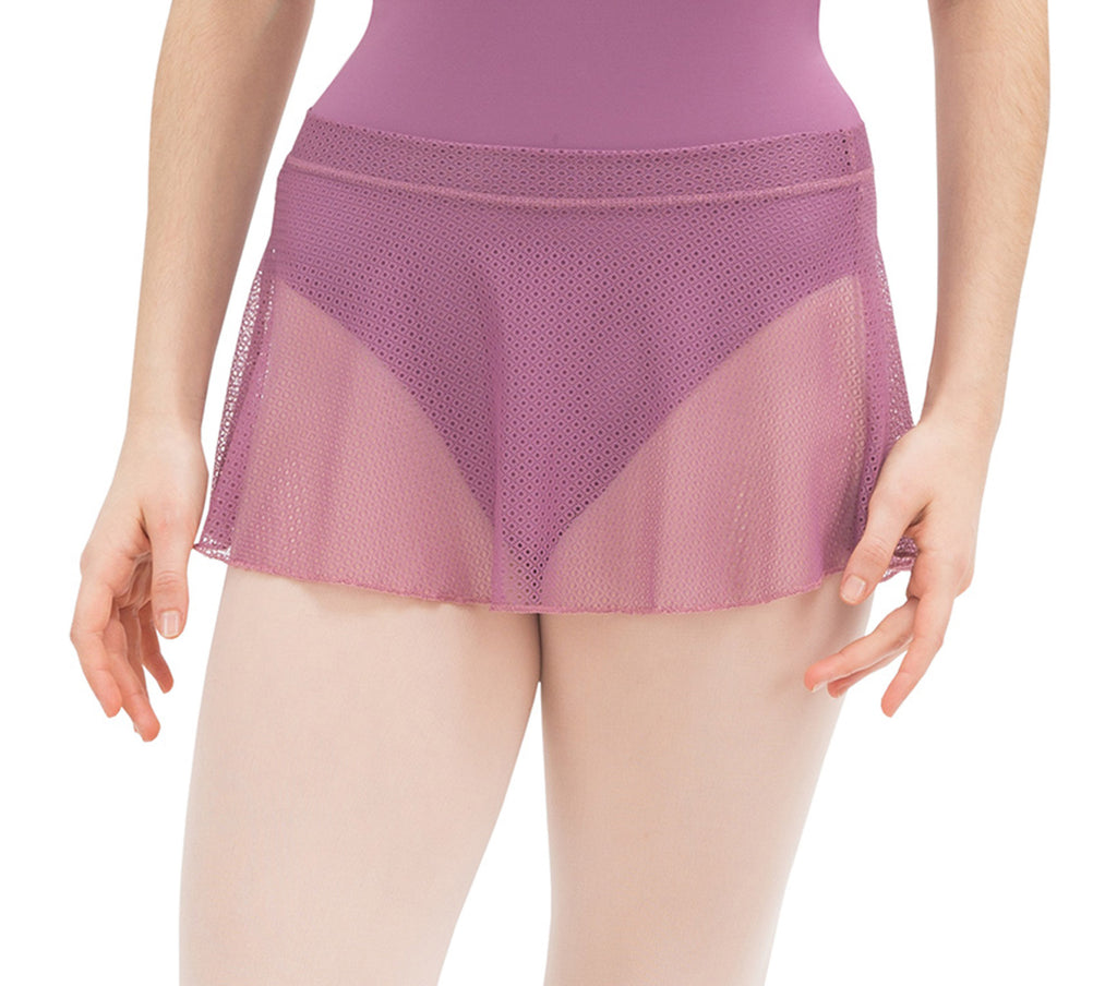 Repetto Mesh skirt D082D- Color : Dalhia