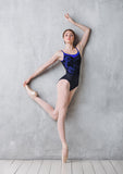 Jewel Emporium DA1809 leotard--Aquamarine- new shipment