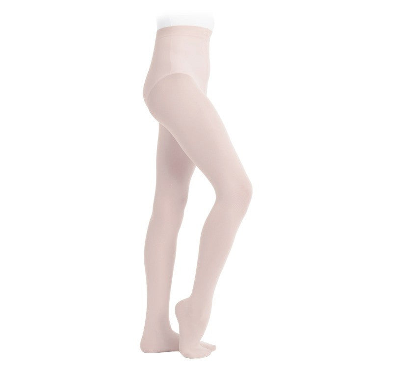 Footed dance tights pink