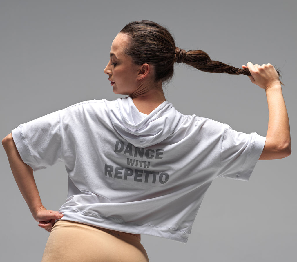 Dance with Repetto hooded T-shirt