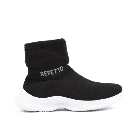 Warm-up boots- black
